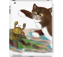 Touché says kitten to the Crab iPad Case/Skin