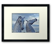 Kelpies 001 Framed Print