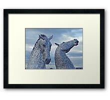 Kelpies 001 Framed Print