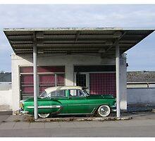 Old Esso Gasstation 2 by Duck-Flower