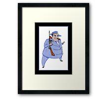 Murder Mystery Mob Boss Framed Print