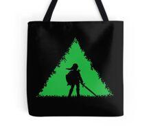 Zelda Triforce Link Tote Bag