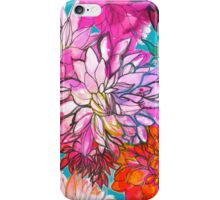 Garden of Dahlias iPhone Case/Skin