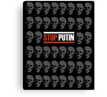Stop Putin Canvas Print