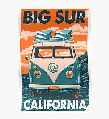 Vintage Poster - California Poster