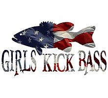 AMERICAN BASS GIRL Photographic Print