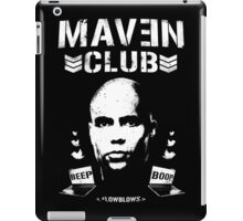 MAVEN CLUB - #LOWBLOWS iPad Case/Skin
