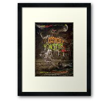 I've Created a Monster 2 Framed Print
