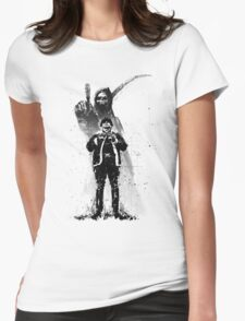 No Heroes Womens Fitted T-Shirt