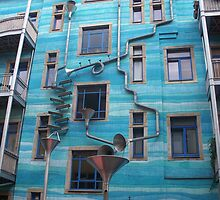 Musical Building by Chroma Amor