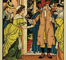 Beauty and the Beast by Walter Crane 1875 7 - At the Door by wetdryvac