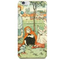 Goody-Two-Shoes by Walter Crane 190x 9 - Alphabet and Reading iPhone Case/Skin