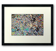 Alabaster Micrograph Framed Print