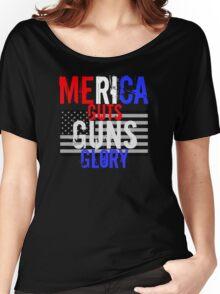 Merica Women's Relaxed Fit T-Shirt