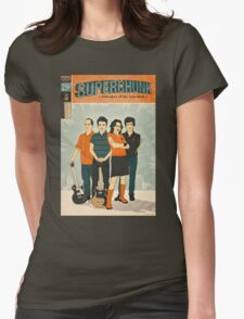 Superchunk Illustration Womens Fitted T-Shirt