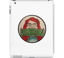 Elm Street Girl Logo iPad Case/Skin