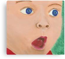 Baby, I'm Amazed Canvas Print
