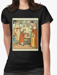 Goody-Two-Shoes by Walter Crane 190x 7 - Curtsey Womens Fitted T-Shirt