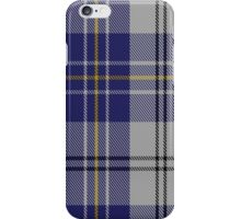 00496 MacPherson Dress Blue (Dance) Clan Tartan Fabric Print Iphone Case iPhone Case/Skin