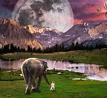 Elephant Land by lindsaymhuba