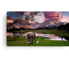 Elephant Land Canvas Print