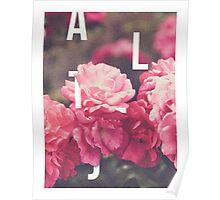 Alt-J - Floral T-Shirt Design Poster