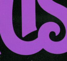 Purple Rush Logo Sticker