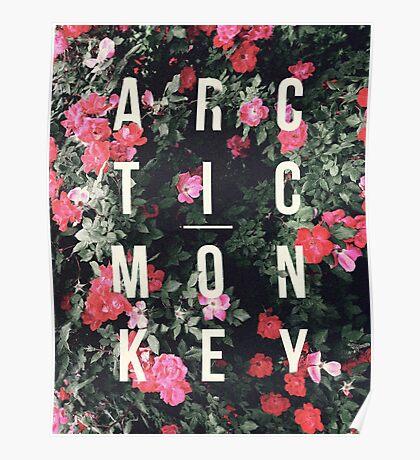 Arctic Monkeys Floral Shirt Poster