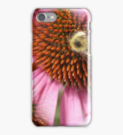 Tiled Bee at Work iPhone Case/Skin