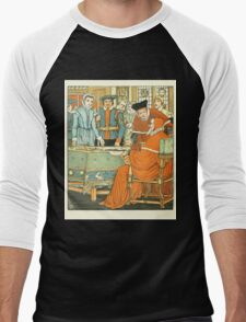 Goody-Two-Shoes by Walter Crane 190x 20 - At the Table Men's Baseball ¾ T-Shirt