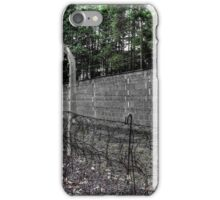 Nazi concentration camp Sachsenhausen (Berlin) iPhone Case/Skin