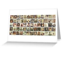 Taylor Swift Polaroid Collection Greeting Card