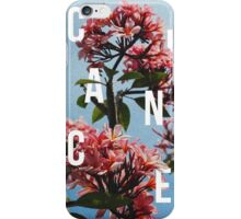 Chance the Rapper - Floral Shirt Design iPhone Case/Skin