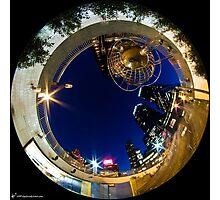 Columbus Circle (night) Photographic Print