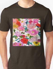 Peonies & Roses T-Shirt