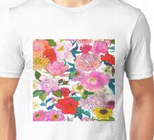 Peonies & Roses Unisex T-Shirt