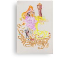 The Oral Tradition of Rapunzel Canvas Print