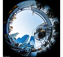 Columbus Circle (day) Photographic Print