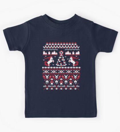 An Ugly Pokemon Christmas Kids Tee