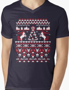 An Ugly Pokemon Christmas Mens V-Neck T-Shirt