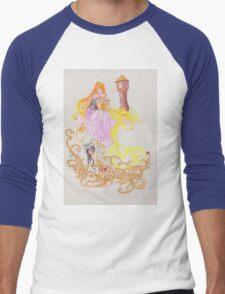 The Oral Tradition of Rapunzel Men's Baseball ¾ T-Shirt