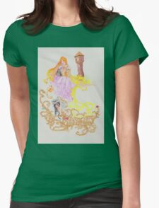 The Oral Tradition of Rapunzel Womens Fitted T-Shirt