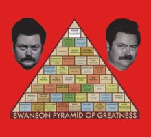 Swanson Pyramid of Greatness Kids Clothes