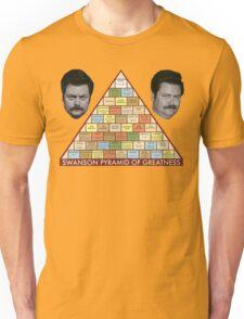 Swanson Pyramid of Greatness Unisex T-Shirt