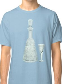 crystal carafe and wineglass Classic T-Shirt