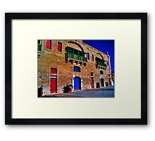 Valletta Waterfront Framed Print