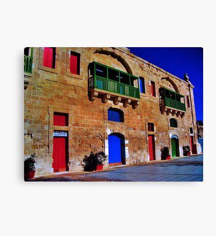Valletta Waterfront Canvas Print