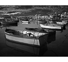 Fishing Boats at Rest Photographic Print