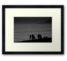 Seaford Tonight Framed Print