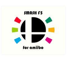 Smash F5 for amiibo Art Print